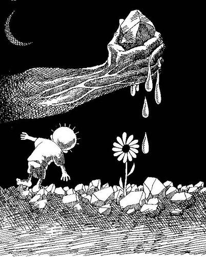 Art by Naji al-Ali